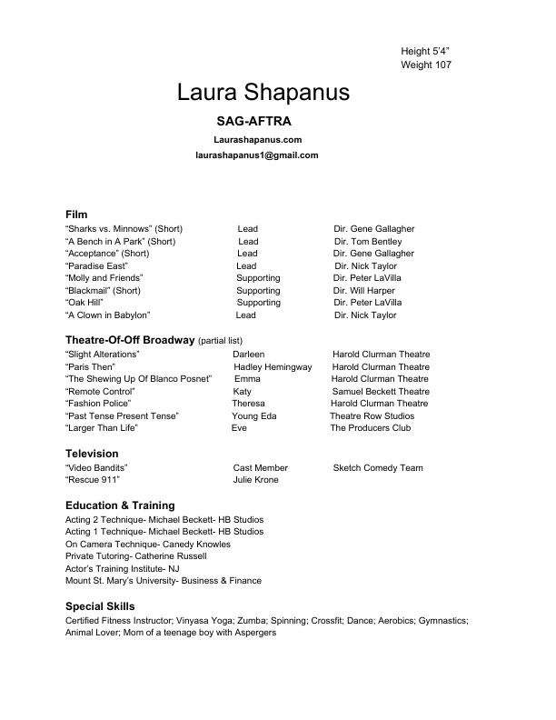 Sample Resume For Teenager Excel Laura Shapanus  Resume Professional Resume Writing Services Excel with What To Put As An Objective On A Resume Word Download Pdf Resume Welder Resume Examples Word
